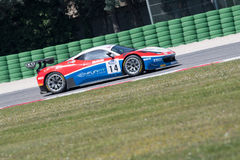 FERRARI 458 ITALIA GT3 samochód wyścigowy Fotografia Royalty Free
