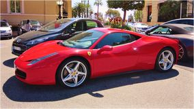 Ferrari 458 Italia Royalty Free Stock Images