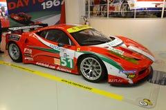 Ferrari 458 Italia Le Mans vinnare Royaltyfri Foto