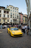 Ferrari 458 Italia at Mille Miglia 2015 Royalty Free Stock Image
