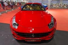 Ferrari 458 Italia på skärm Royaltyfria Bilder