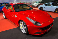Ferrari 458 Italia på skärm Royaltyfri Foto