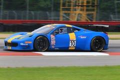 Ferrari Italia pro-springa Fotografering för Bildbyråer