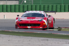 FERRARI 458 ITALIA race car Stock Photography