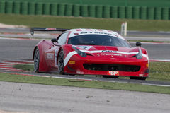 FERRARI 458 ITALIA race car Stock Images