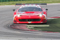 FERRARI 458 ITALIA race car Stock Photos