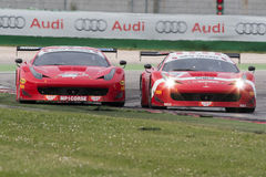 FERRARI 458 ITALIA race car Royalty Free Stock Photography