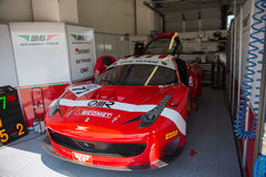 FERRARI 458 ITALIA race car Royalty Free Stock Photo
