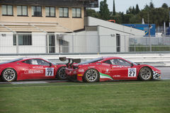 FERRARI 458 ITALIA race car Royalty Free Stock Images