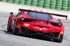 FERRARI 458 ITALIA racerbil Royaltyfri Bild