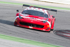 FERRARI 458 ITALIA racerbil Royaltyfria Bilder