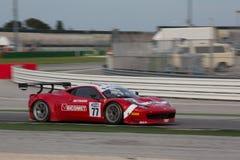 FERRARI 458 ITALIA racerbil Royaltyfria Foton