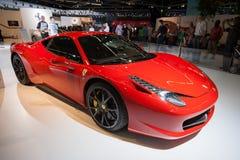 Ferrari 458 Italia sportbil Royaltyfria Bilder