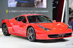 Ferrari 458 Italia sports car Royalty Free Stock Photography