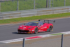 Ferrari 458 italia. On track Stock Photo