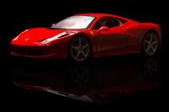 Ferrari 458 Italie Images libres de droits