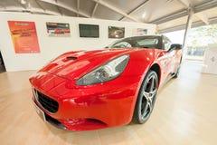 Ferrari Kalifornien Lizenzfreies Stockfoto