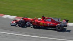 Ferrari 2017 kanadyjczyk Gran Prix Obrazy Stock