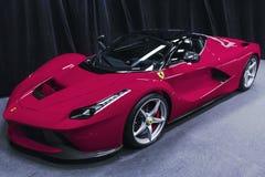 Ferrari LaFerrari 2017 imágenes de archivo libres de regalías