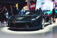2017 Ferrari LaFerrari Aperta Royalty-vrije Stock Afbeelding