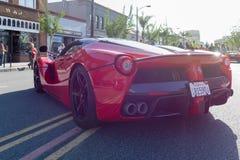 Ferrari LaFerrari on display Royalty Free Stock Image