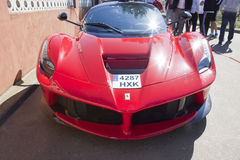 Ferrari LaFerrari front Stock Photos