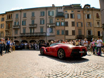 Ferrari LaFerrari at Mille Miglia 2015 Royalty Free Stock Photo