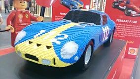 Ferrari Lego Royalty Free Stock Photo