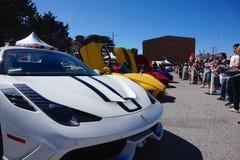 Ferrari lineup royaltyfri bild
