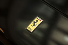 Ferrari logo Stock Photography