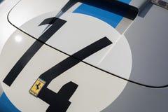 Ferrari logo on display Royalty Free Stock Photography