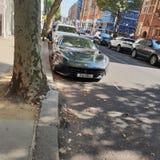 Ferrari in Londen royalty-vrije stock afbeeldingen