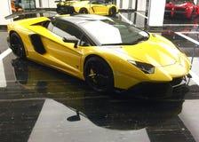 Ferrari Luxury Cars on Display Stock Images