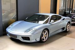 Ferrari 360 Módena imagen de archivo