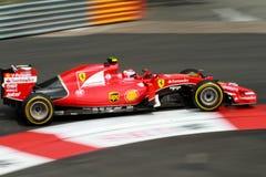 Ferrari Mónaco Grand Prix 2015 Fotos de archivo libres de regalías