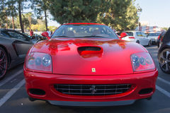 Ferrari 575M Maranello on display Royalty Free Stock Photo
