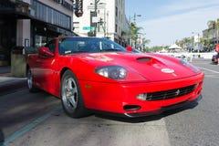 Ferrari 550 Maranello Arkivbilder