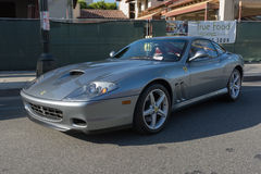 Ferrari 550 Maranello on display Stock Photos