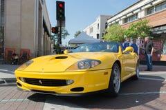Ferrari 550 Maranello Stock Photos