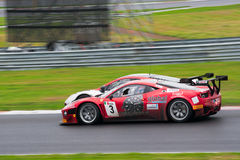 Ferrari and Mclaren GT FIA GT1 at race Royalty Free Stock Photos