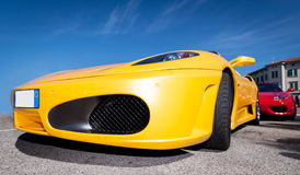 Ferrari meeting Royalty Free Stock Images