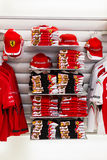 Ferrari merchandise and souvenirs Royalty Free Stock Images