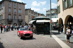 Ferrari 250 at Mille Miglia 2015 Royalty Free Stock Images