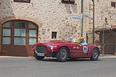 Ferrari 250 MM pająk Vignale w Mille Miglia 2014 (1953) Obraz Royalty Free