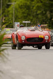 Ferrari375 MM spider Pinin Farina1953 Stock Photo
