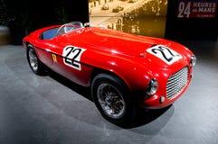 Ferrari 166 MMBarchetta Genève 2014 Arkivbild