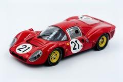 Ferrari 330 modèles P4 réduits à 1/43 Photographie stock