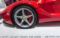Ferrari Modern Car Stock Photography