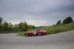 FERRARI 750 Monza-Spin Scaglietti 1955 Stock Foto
