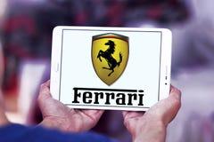 Ferrari motor logo Stock Photo